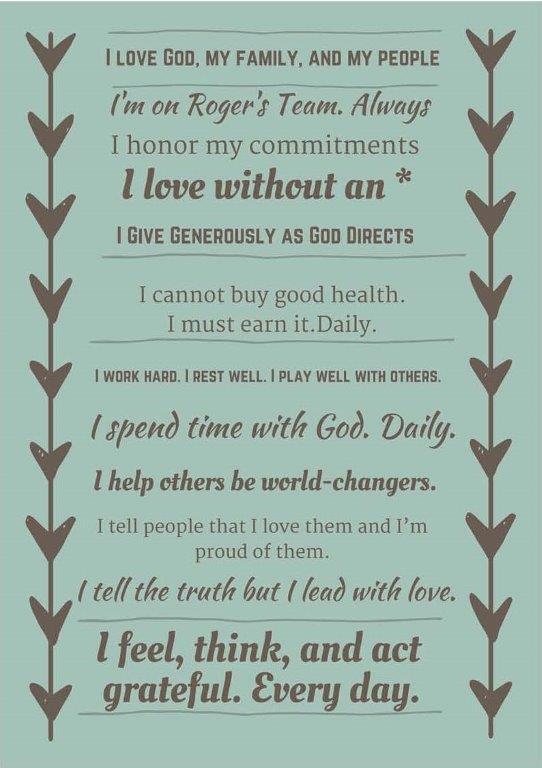 Personal Manifestos Overwhelmed